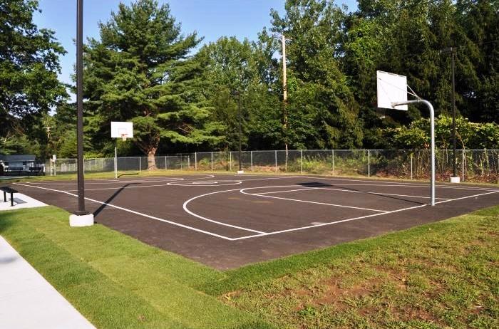 Outside Basketball Court | Exterior Basketball Court | Blacktop Court