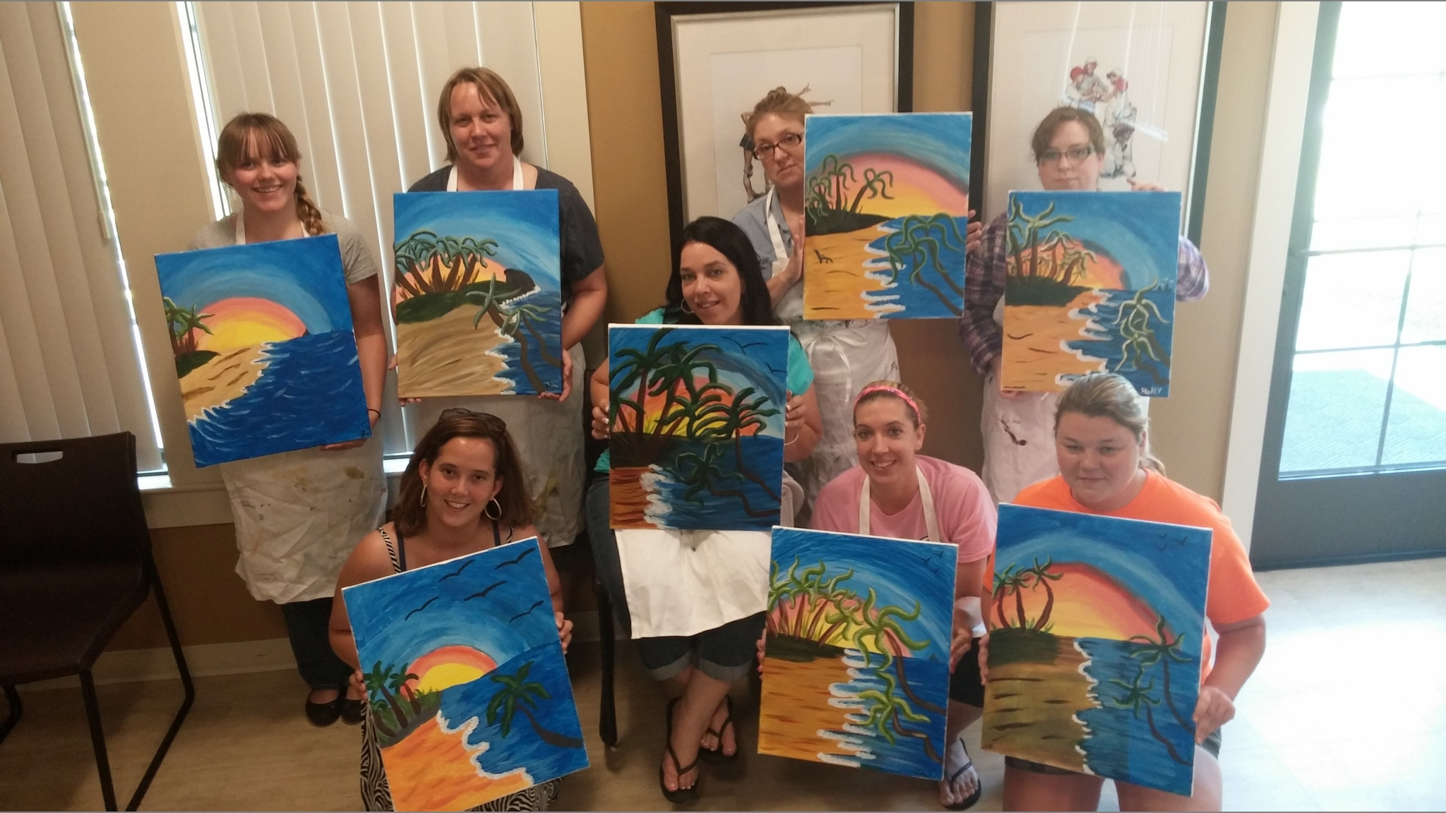 Westover Housing Resident Events | Resident Painting Event