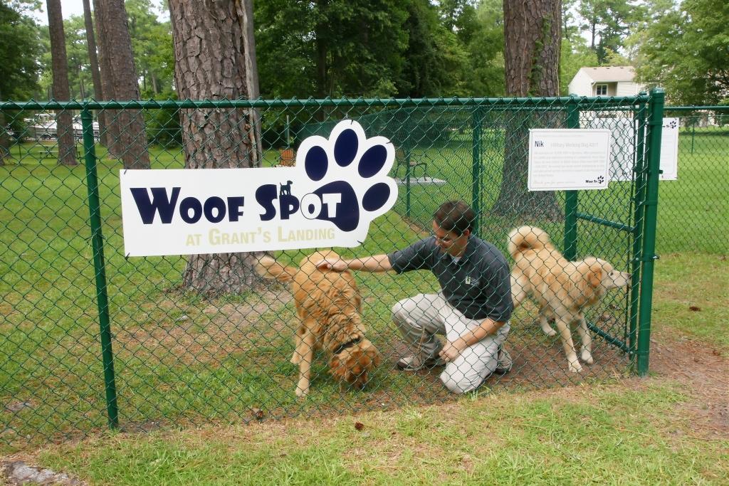 Pet friendly neighborhood | Dog Park | Woof Spot