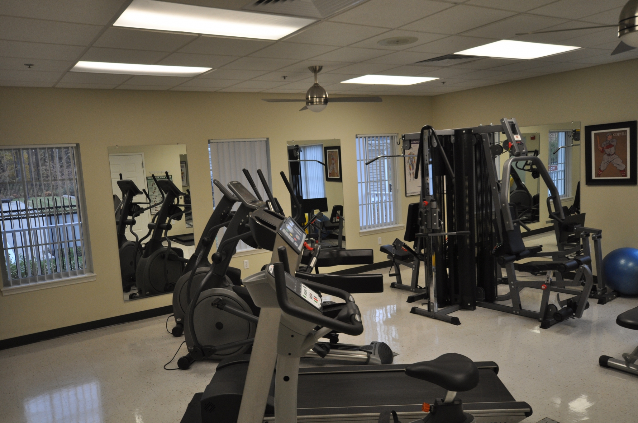Fitness Center | Resident Amenity | Workout Center | Elliptical Machine