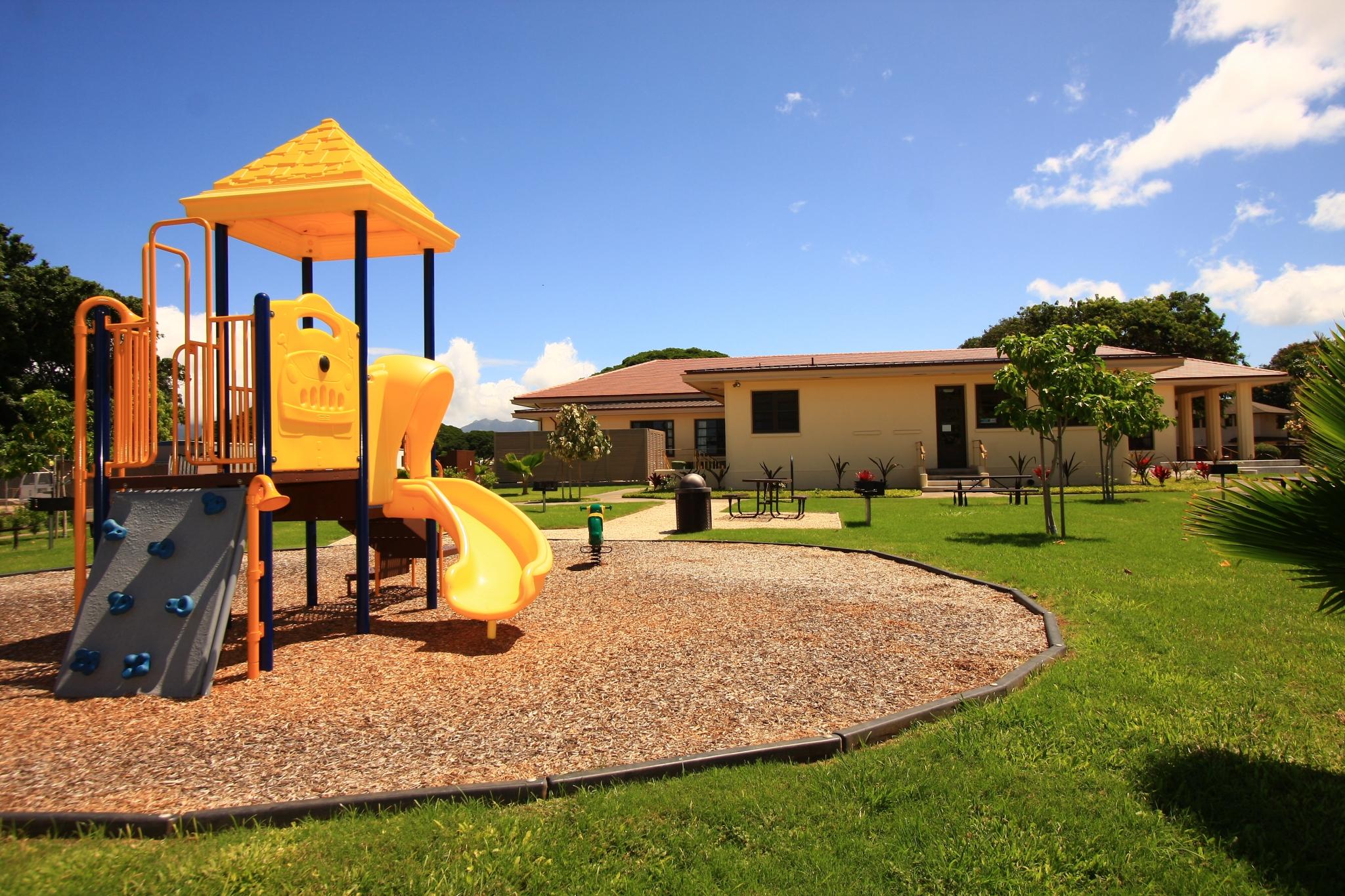 Hickam Communities | Community Center | Playground |