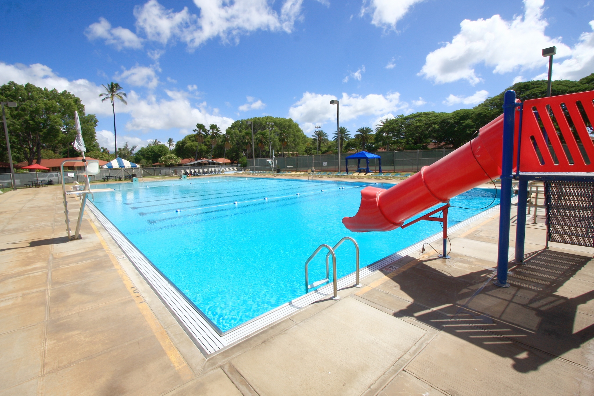 Hickam Communities | Hickam Fitness Center | MWR | Swimming Pool