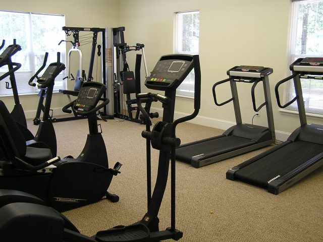 Fitness Center | Inside Gym | Elliptical Machines | Workout Room