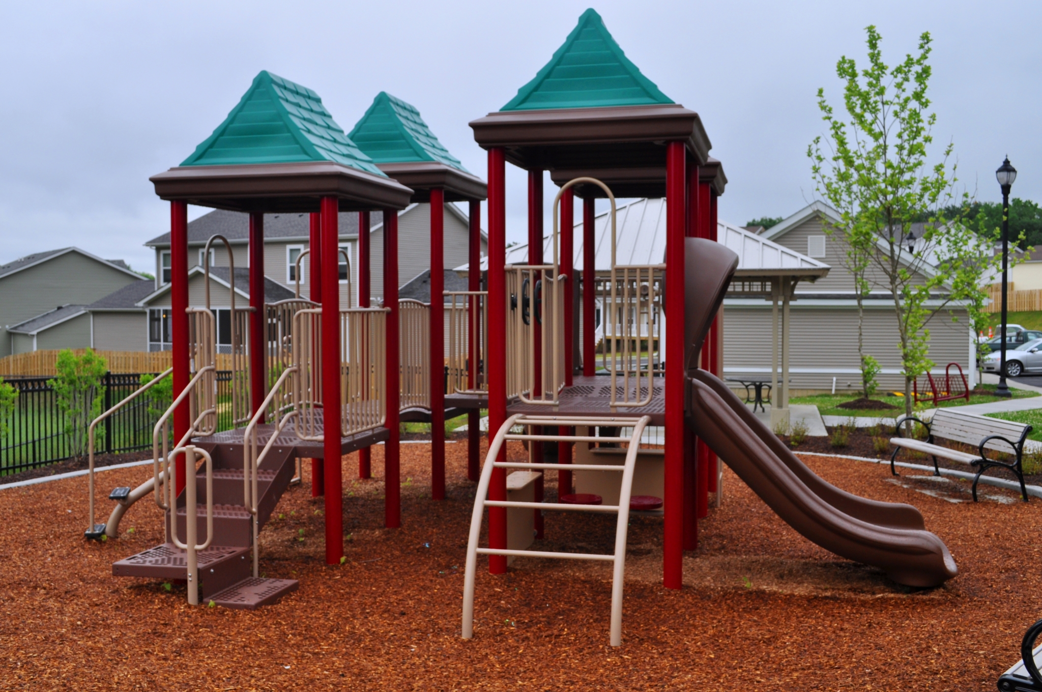 Resident Amenity | Outside Playground | Wood Chips