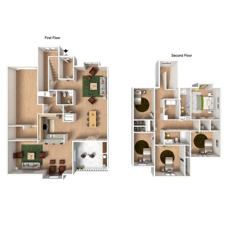 Siku Basin 5-Bedroom I with Furniture