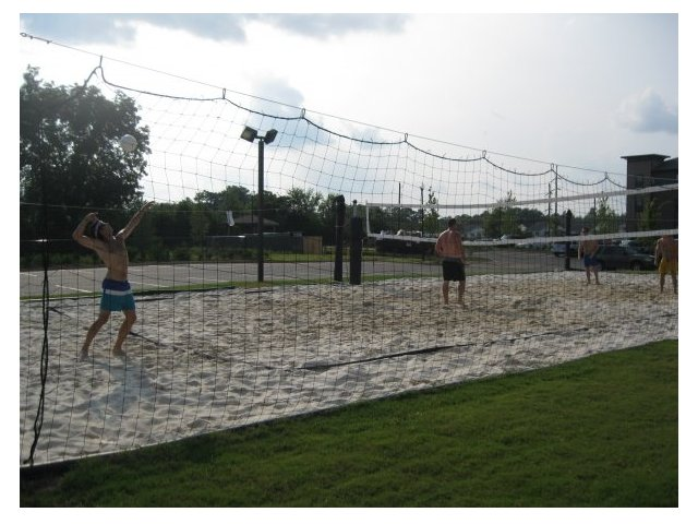Image of Sand volleyball court for Bellamy at Milledgeville