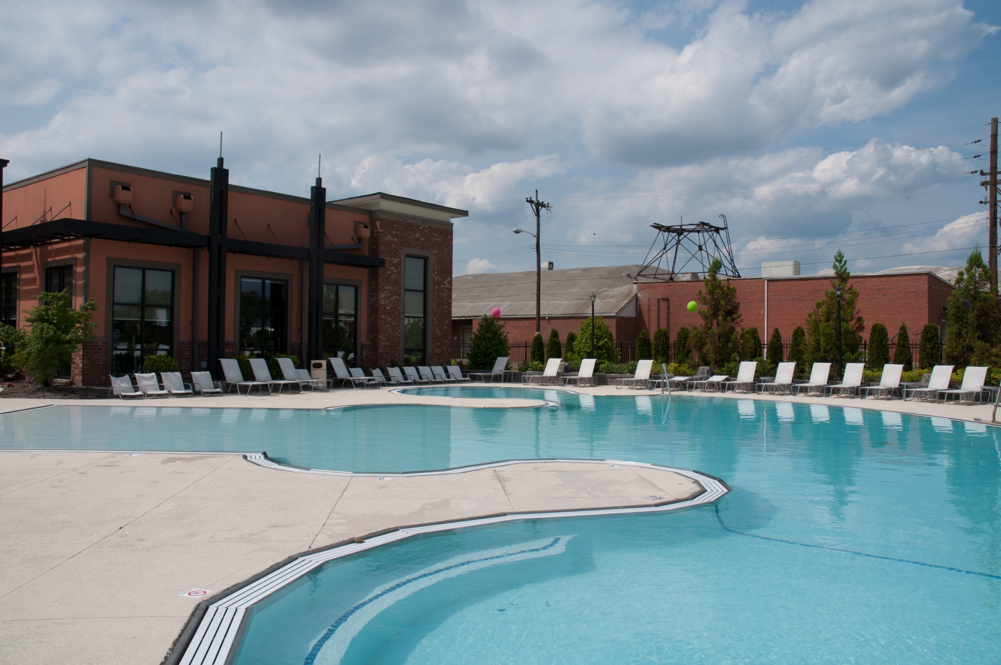 Image of Zero-entry swimming pool for Bellamy at Louisville