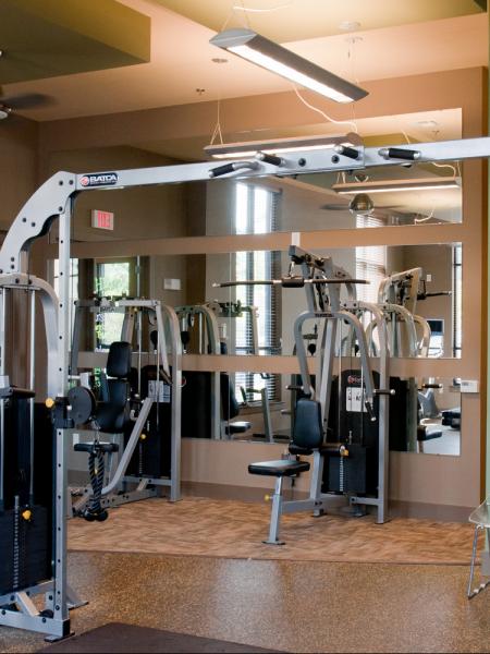 Student housing Fitness center