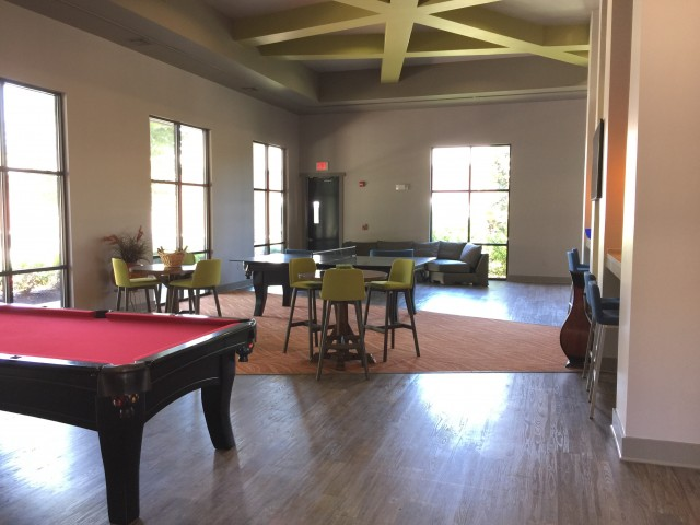 Image of Clubhouse with billiards, ping-pong, coffee bar for Bellamy at Louisville