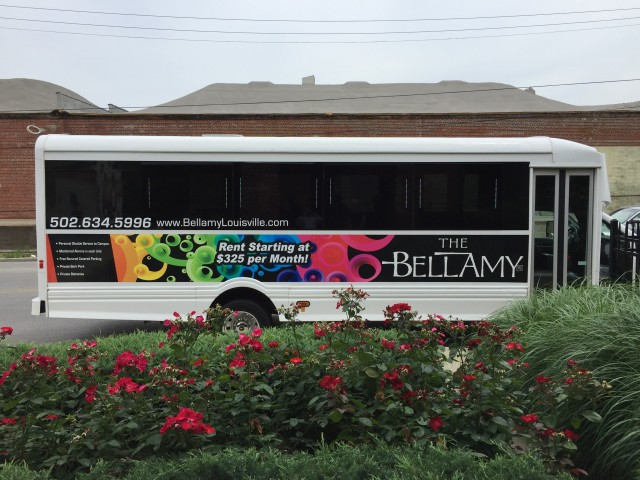 Image of FREE Shuttle to UofL campus for Bellamy at Louisville