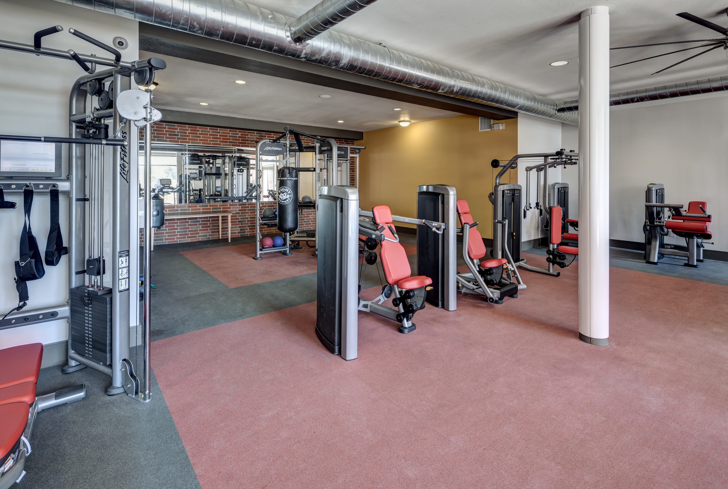 Image of 24 Hour Fitness Gym for Millennium Apartments