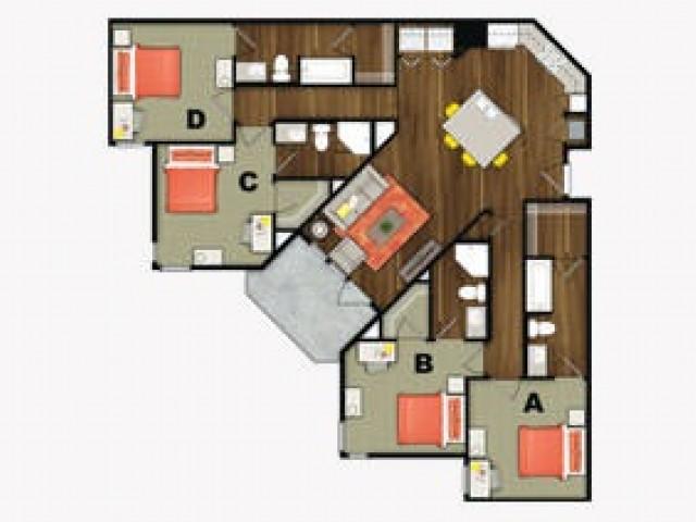 4 Bedroom Max