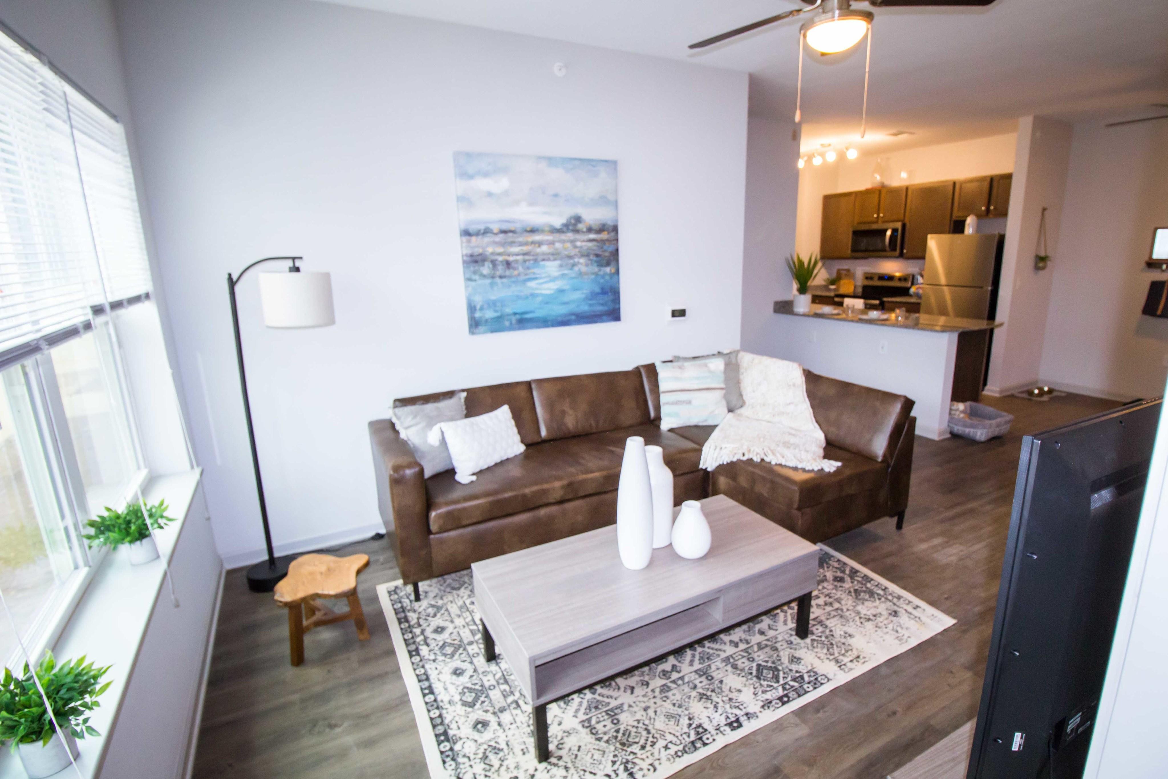Elegant Living Room | Apartments for rent in Florence, AL | Bellamy Florence