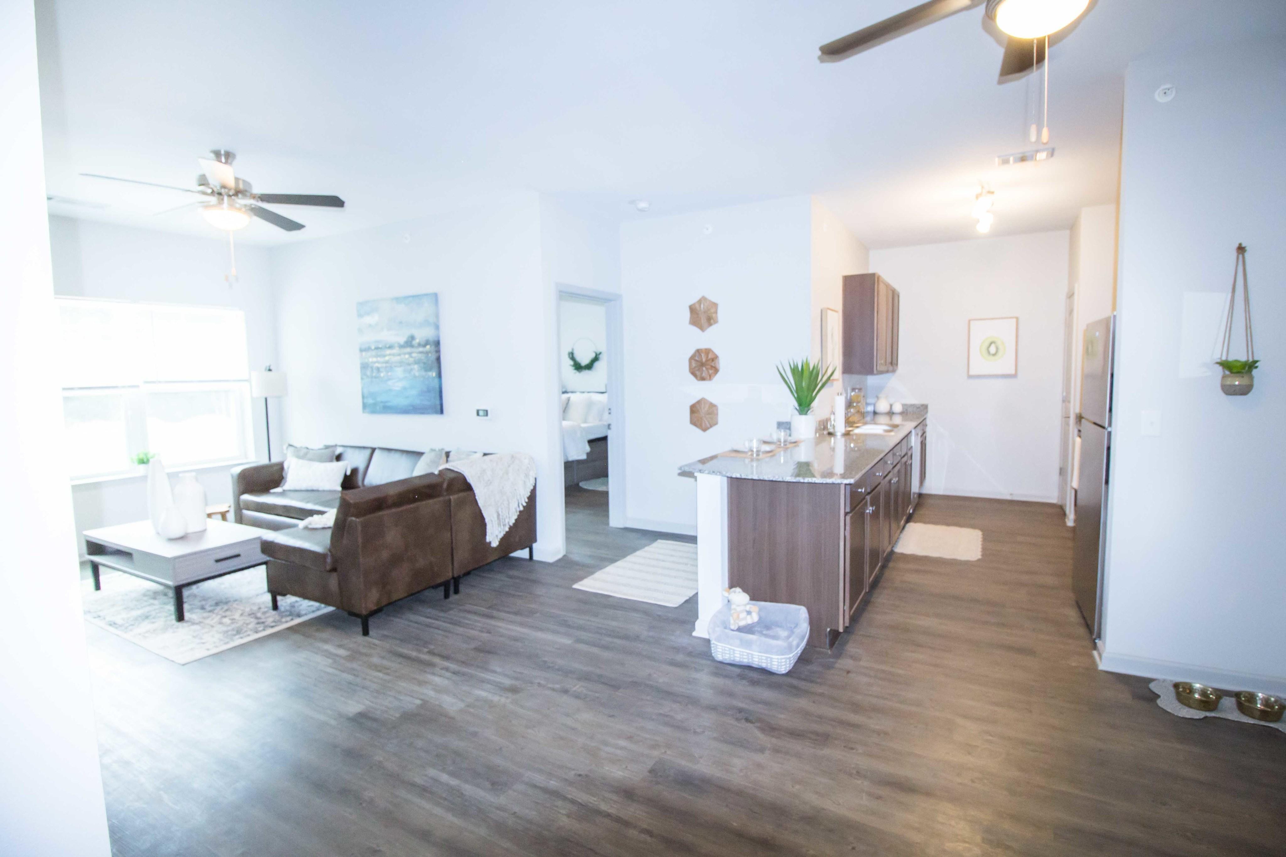 Elegant Living Area | Apartments Florence, AL | Bellamy Florence
