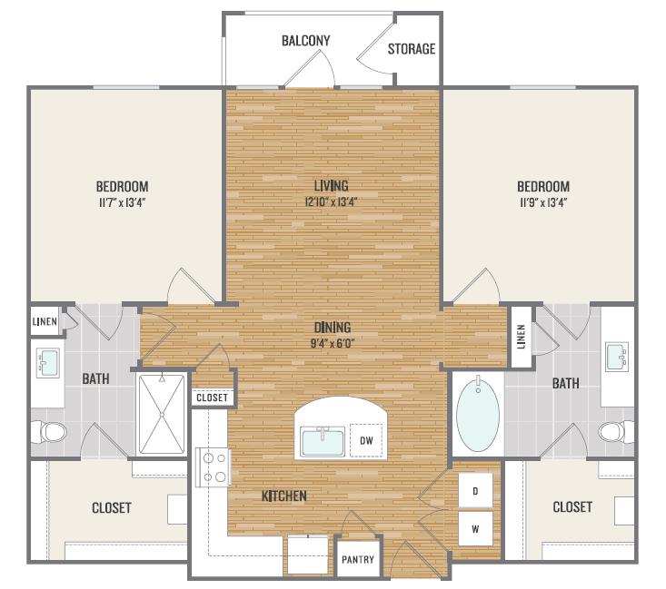 Floor Plan 4 | Aura3300
