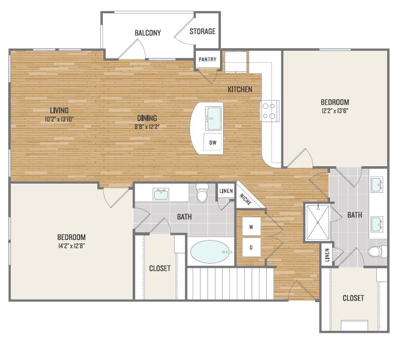 Floor Plan 6 | Aura3300