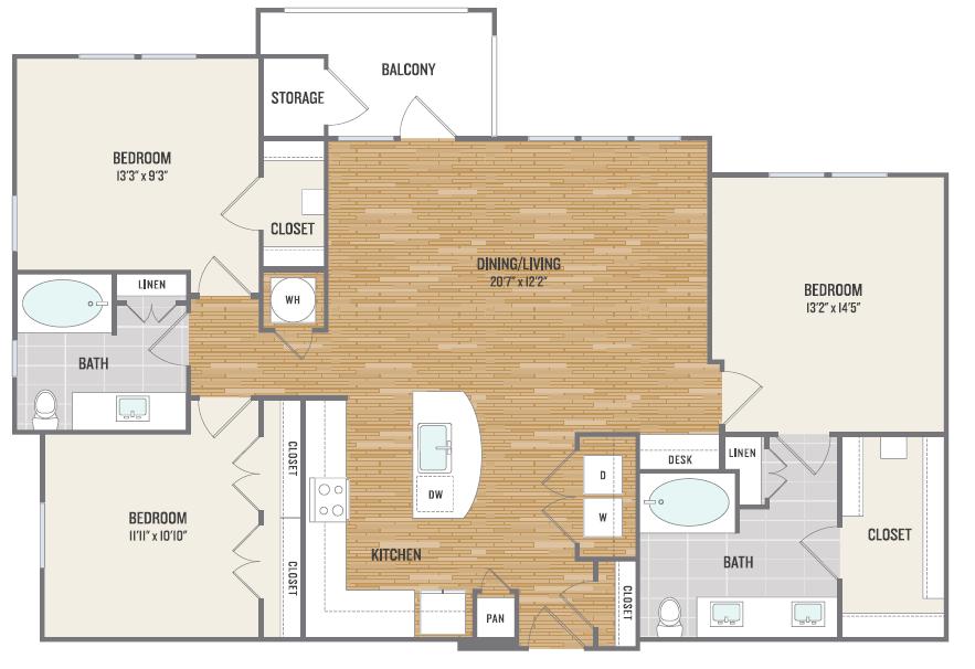 Floor Plan | Aura3300 2