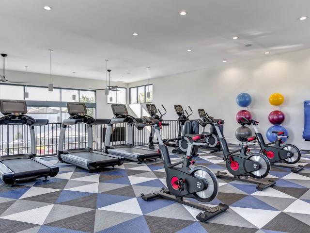 Image of 24-hour 2-Floor Fitness Center with State-of-the Art Equipment for Residences at Arlington Heights