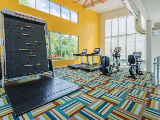 Image of State-of-the-Art Fitness Center for Hideaway Lake Luxury Apartments