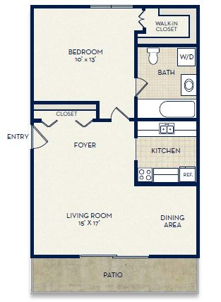 floor plan washington
