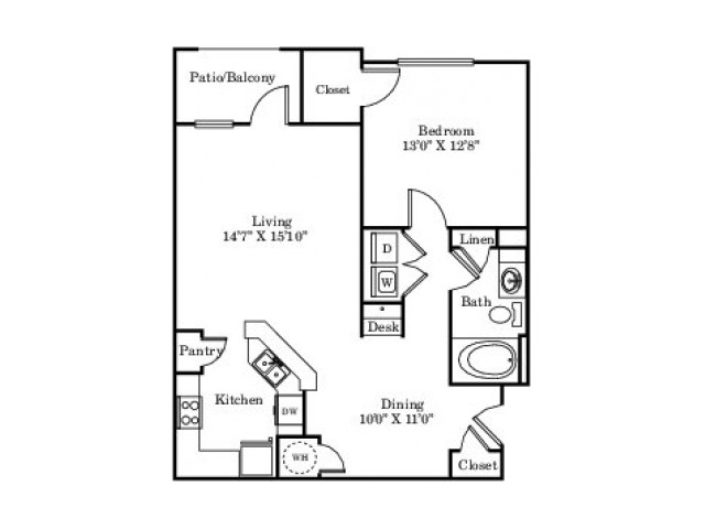 The Blue Bonnet Floor Plan