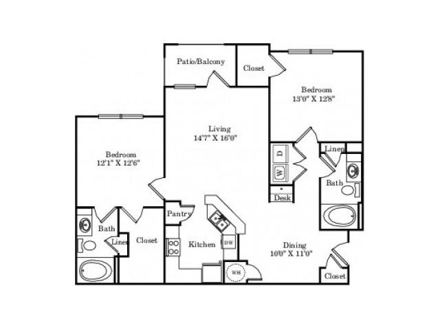 The Yellow Rose Floor Plan