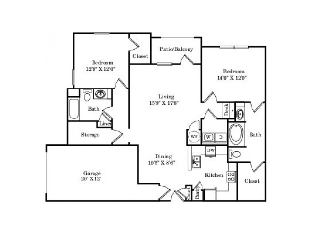 The Saddle Ranch Floor Plan