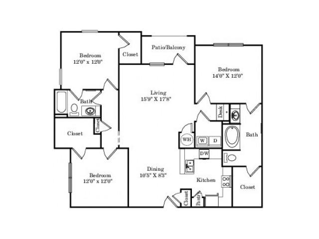 The Mockingbird Floor Plan