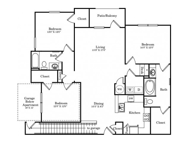 The Primrose Floor Plan