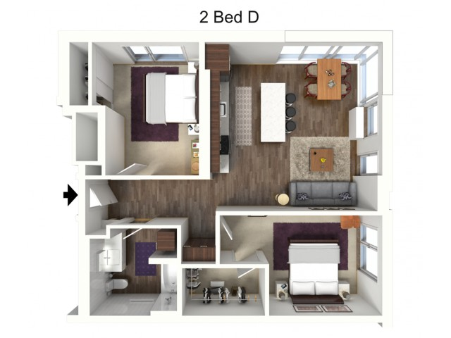 Two Bedroom D