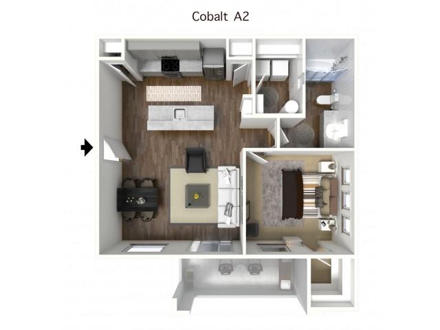 1x1 Cobalt 3d