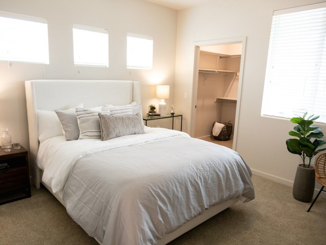 One bedroom with walk-in closet in Goodyear, AZ