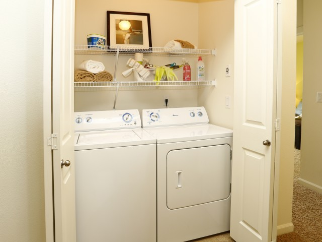 Image of Washer and Dryer in Units for North Glen Villas