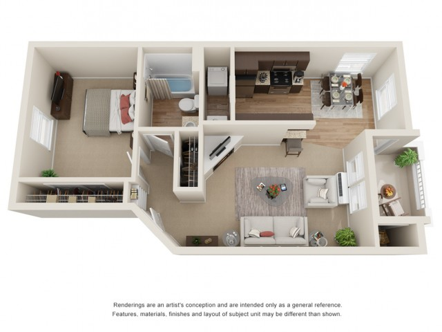 Copper Floor Plan