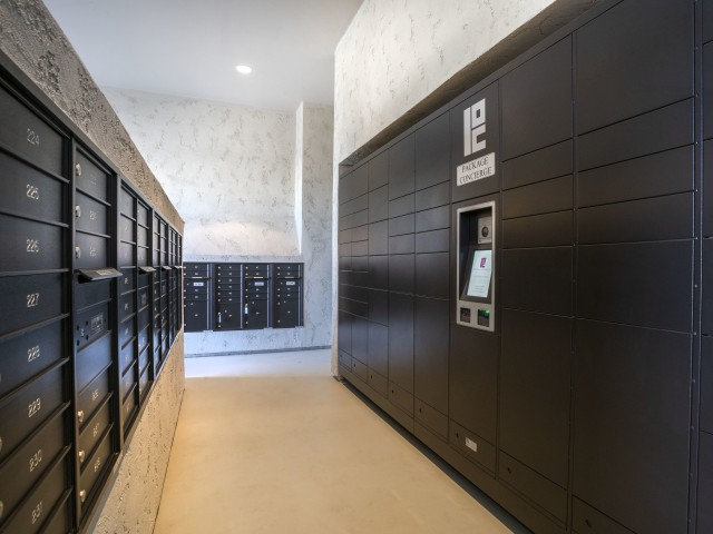 apartment package lockers