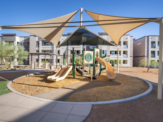 Apartments with playground