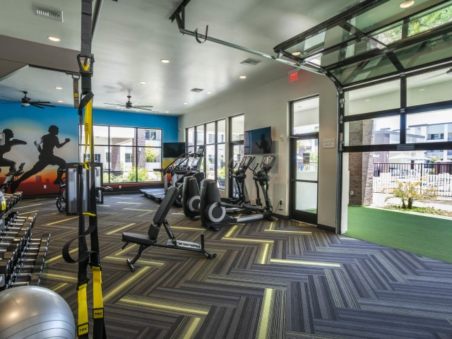 gilbert apartment with fitness center