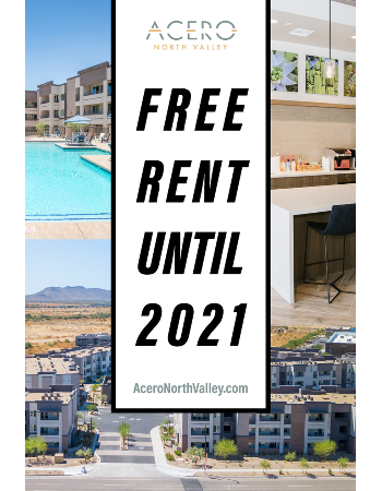 Free Rent Until 2021! New move-ins only. Inquire with leasing team.