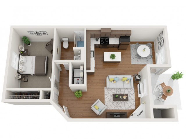 Cobalt floor plan