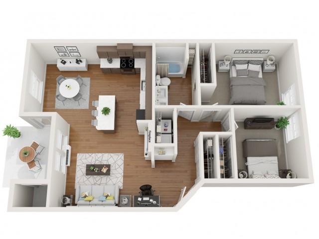 Indigo Floor plan