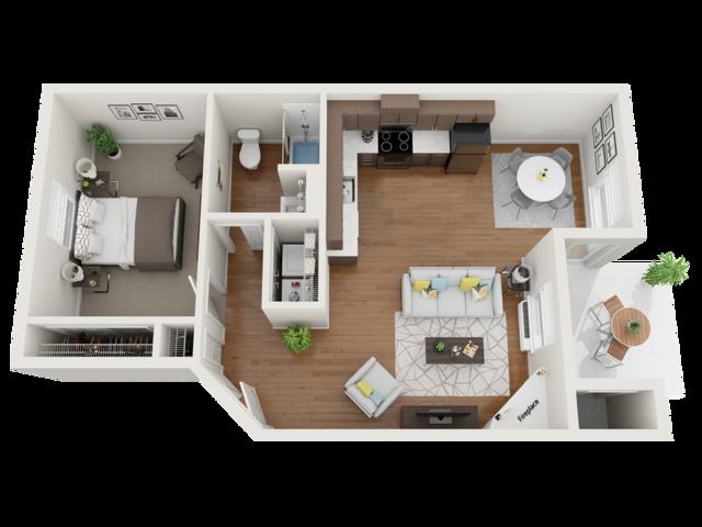 furnished cobalt floor plans