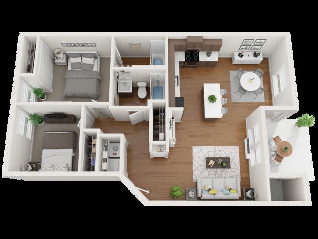 furnished oxford floor plans