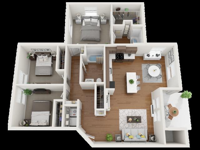furnished steel floor plans