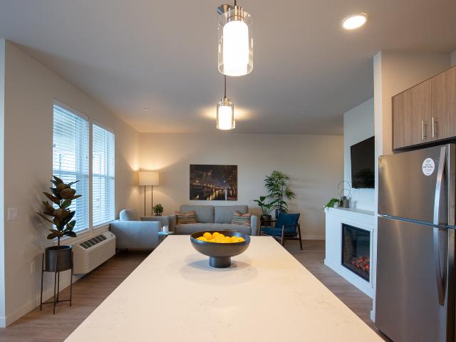apartments with quartz counters