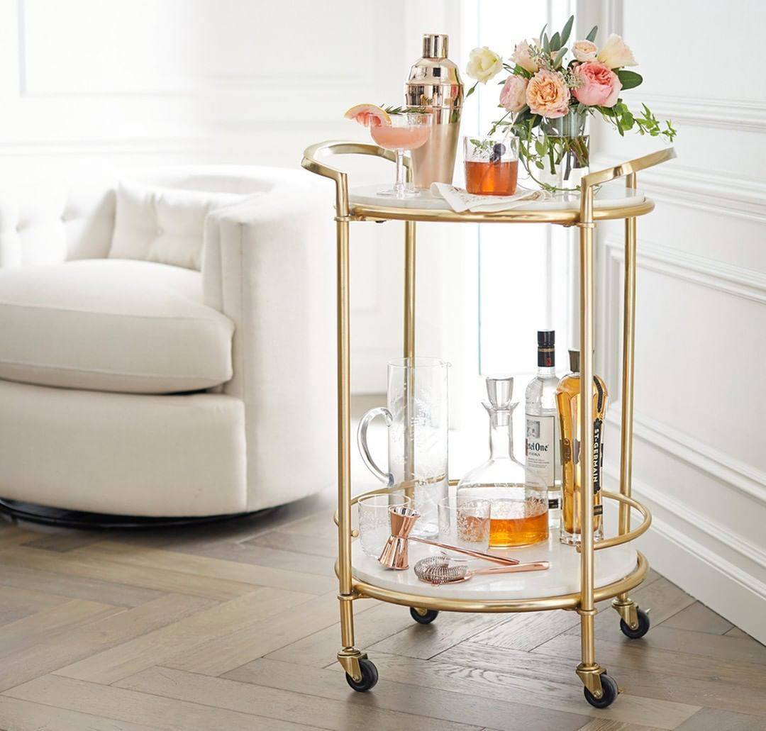 Bar Cart Styling 101: Bring Happy Hour Home!-image