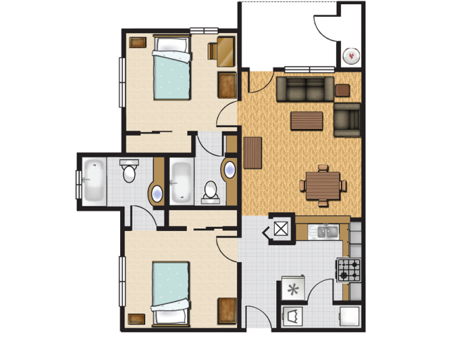 Jacksonville Student Apartments - UNF and FSCJ