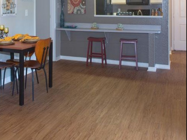 Image of Hardwood Floor Laminate - Kitchen, Living Room and Bathrooms for The District on Kernan