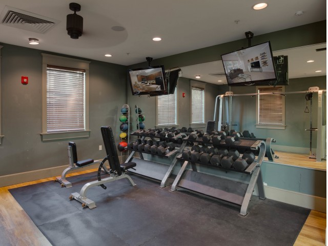 Image of Precor Fitness Equipment for Campus Quarters