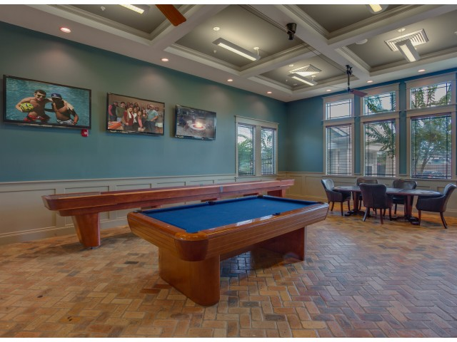 Image of Billiards Lounge for Campus Quarters