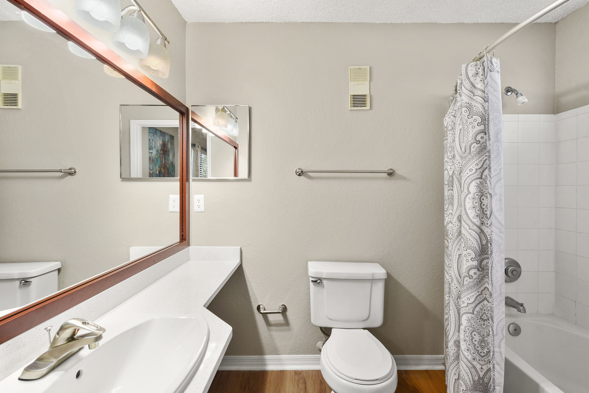Image of Quartz Bathroom Countertops for Kernan Oaks